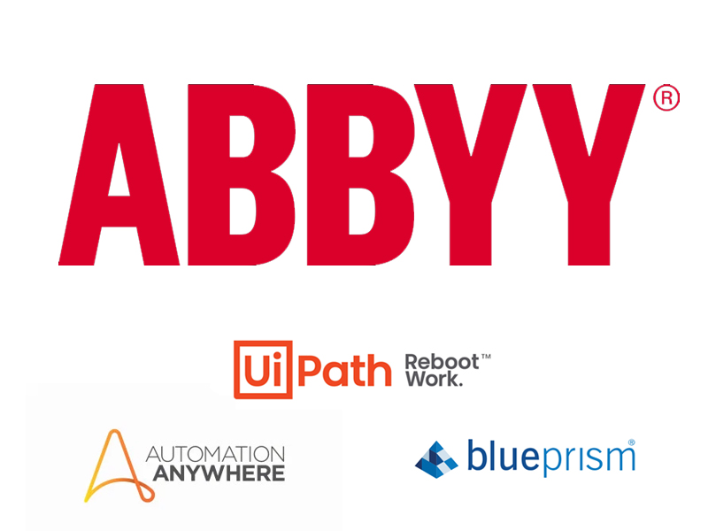 Integração entre ABBYY FlexiCapture e o RPA da UiPath, BluePrism e Automation Anywhere